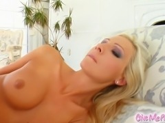 Jordan is a sexy blonde with an amazing body. She strips down revealing her...