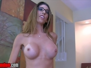 "Dava Foxx wants to turn you into her cum guzzling slut.  ""You want me to be a slut for you… then you have to be a slut for me too…""