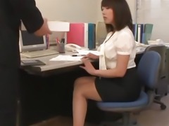 Schoolgirl enjoys two tasty dicks