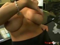 Carmella uses her tits 4