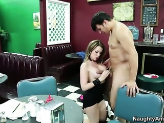 Courtney Cummz is good at fucking and her hard dicked fuck buddy Anthony Rosano knows it