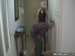 She fucks with his parents when he left free