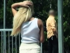 Kinky teen slut Tucker Starr hitch hikes and screwed up