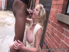 Lady Sonia Trophy Wife Barebacked Outdoors free