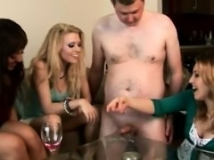 CFNM voyeur make his cock cum