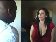 BUSTY MILF WITH NATURAL BIG BOOBS HAVING INTERRACIAL free