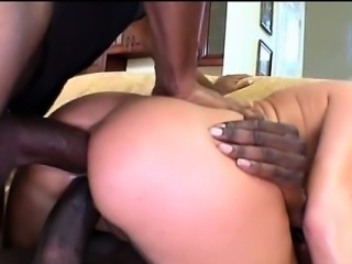 Two big black cocks in Eva Karera