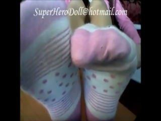 55 WOMAN'S WELL WORN & USED LOW CUT ANKLE Boba Boo Bo Peep Pink Slush CottN Socks ON EBAY free