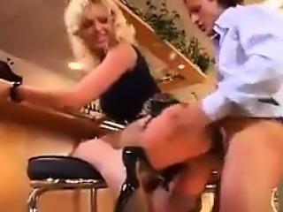 Blonde European MILF Getting Fucked