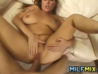 Large dirty mother getting her loose hole pounded hard