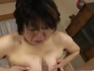 Mature Asian lass has a nice pussy fuck