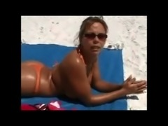 Picking Up a Cougar at the Beach free