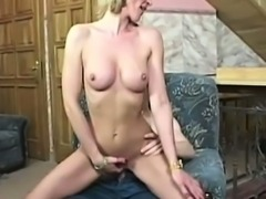 MILF Pamela Riding a Cock
