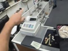 A sexy Latina stewardess got banged by the pawnman