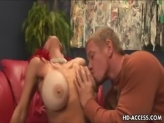 Redhead MILF with big tits get fucked free