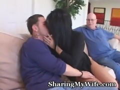 Mature Housewife Seduces Younger Man To Turn On Hubby free