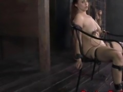 Electro sex sub getting toyed and she is cumming hard