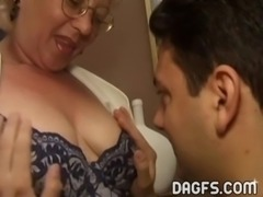 Mature woman boned for real free