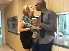 Katie Kox Sophie Dee Share A Big Black Cock