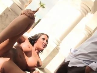 House sitters dripping wet pussy probed