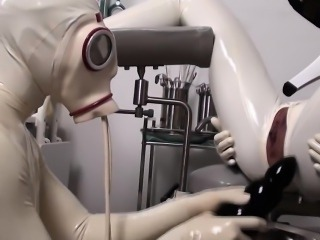 Two horny German sluts who love to dress up in sexy latex