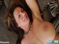 Busty milf pornstar gets arse fucked free