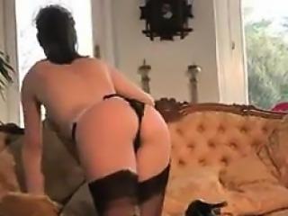 Hot Maid Strips And Masturbates