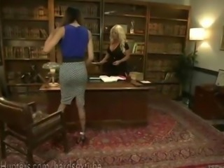 Big Tittied Blonde Boss TS Dominated