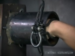 Busty MILF Orgasmed In Device Bondage free