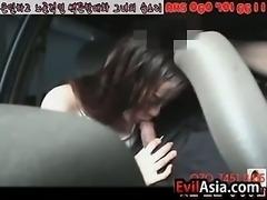 Korean Girl Giving A Blowjob