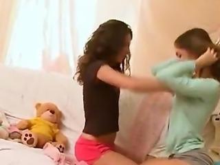 horny lesbians teens kissing