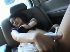 Risa Murakami is roughly fucked in car