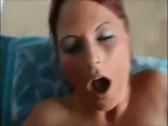 Redhead wife on real homemade free