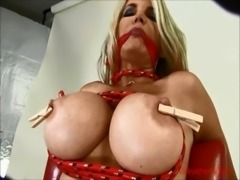 Big Titted Webstar of the Year Vicky Vette Tied up & Teased! free