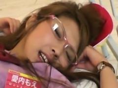 Teen Sucks a Futanari Waitress!