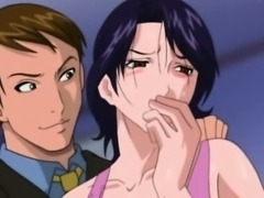 Anime milf sucking in sixtynine while fucking