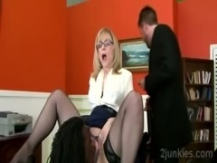 Gorgeous mature secretary gets tongued by sons black bossckold-9761 02 big-1 free