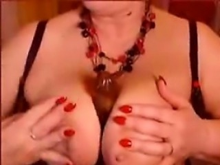 Granny and playing with huge naturals