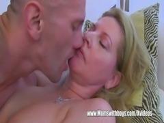 Cougar Fucks After She Catches Her Stepson Masturbating free