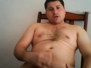 Chubby Mexican GAY CUM AND ASS