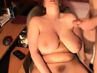 Thick Busty Mother Masturbating