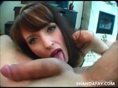 Finger Pegging Blowjob?! ShandaFay! free