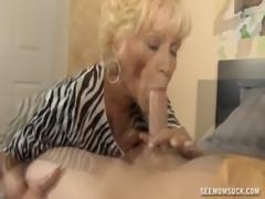 Naughty Granny Blowjob free