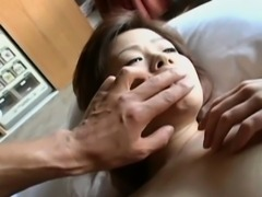 Sexy young asian babe banged hard in a hotel