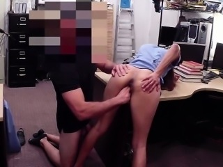 Kinky nurse sells her pussy in the shop