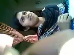 My Friend MUSLIM girl  BOOBS press & Lipock free