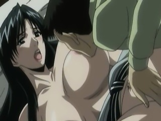 Big titted hentai babe gets fingered and fucked