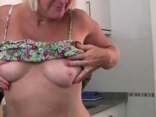 The kitchen is mom's playground