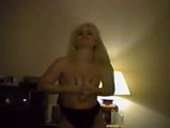 Vintage Stripper Hired To Get Naked