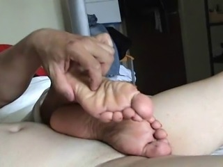 Tickle Footjob